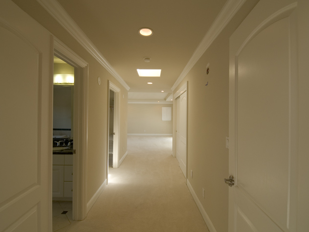 Hallway Master Bedroom