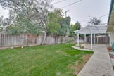 Back Yard (H) - 1226 Susan Way, Sunnyvale 94087