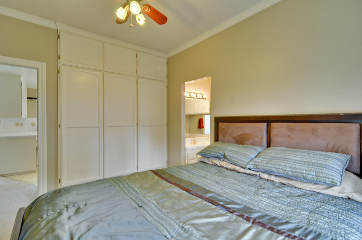 Cottage Master Bedroom Pic2  - 641 Marion Ave