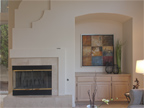810 Corriente Point Dr, Redwood Shores 94065 - Family Room Fireplace