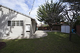 140 Daley Ct, San Bruno 94066 - Side Yard (A)