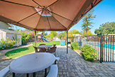 1085 El Solyo Ave, Campbell 95008 - Backyard (A)