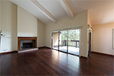 3327 La Mesa Dr 12, San Carlos 94070 - Living Room (A)