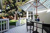 1007 Peggy Ln, Menlo Park 94025 - Deck (A)