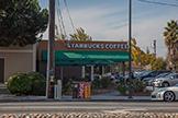1159 Topaz Ave, San Jose 95117 - Starbucks Saratoga