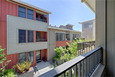 860 Altaire Walk, Palo Alto 94306 - Bedroom 2 Balcony (A)