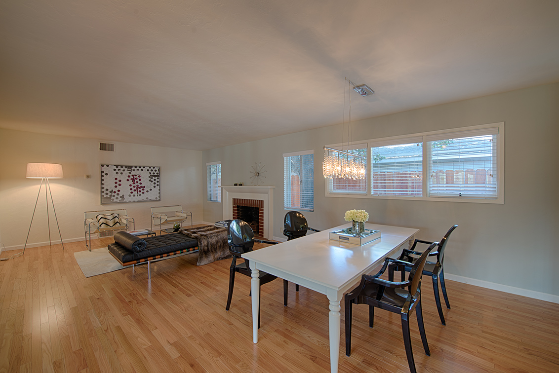 Living Room - 649 Arastradero Rd