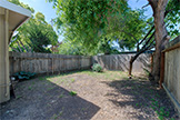 1304 Hill Ave, Menlo Park 94025 - Side Yard (A)