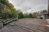 20802 Hillmoor Dr, Saratoga 95070 - Deck (A)