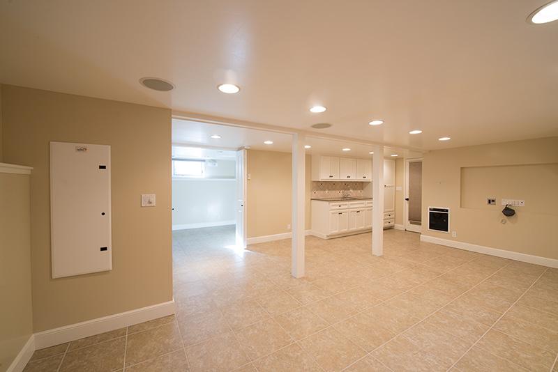 Basement Living Area (A)