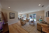7778 Lilac Way, Cupertino 95014 - Living Room (C)