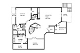 Floor Plan Basement  - 881 Parma Way, Los Altos 94024