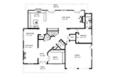 Floor Plan Ground  - 881 Parma Way, Los Altos 94024