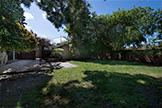 519 Saint Claire Dr, Palo Alto 94301 - Backyard (A)