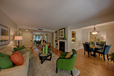Living Room (D) - 20780 4th St 6, Saratoga 95070