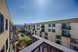 88 Bush St 4170, San Jose 95126 - Balcony View (A)