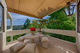 56 El Rey Rd, Portola Valley 94028 - Dining Balcony (A)