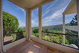 56 El Rey Rd, Portola Valley 94028 - Living Room View (A)