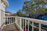 551 Lytton Ave, Palo Alto 94301 - Bedroom 2 Balcony (A)