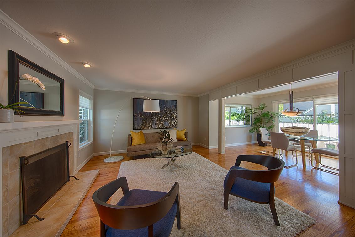 Living Room (D) - 451 Oak Grove Ave 4