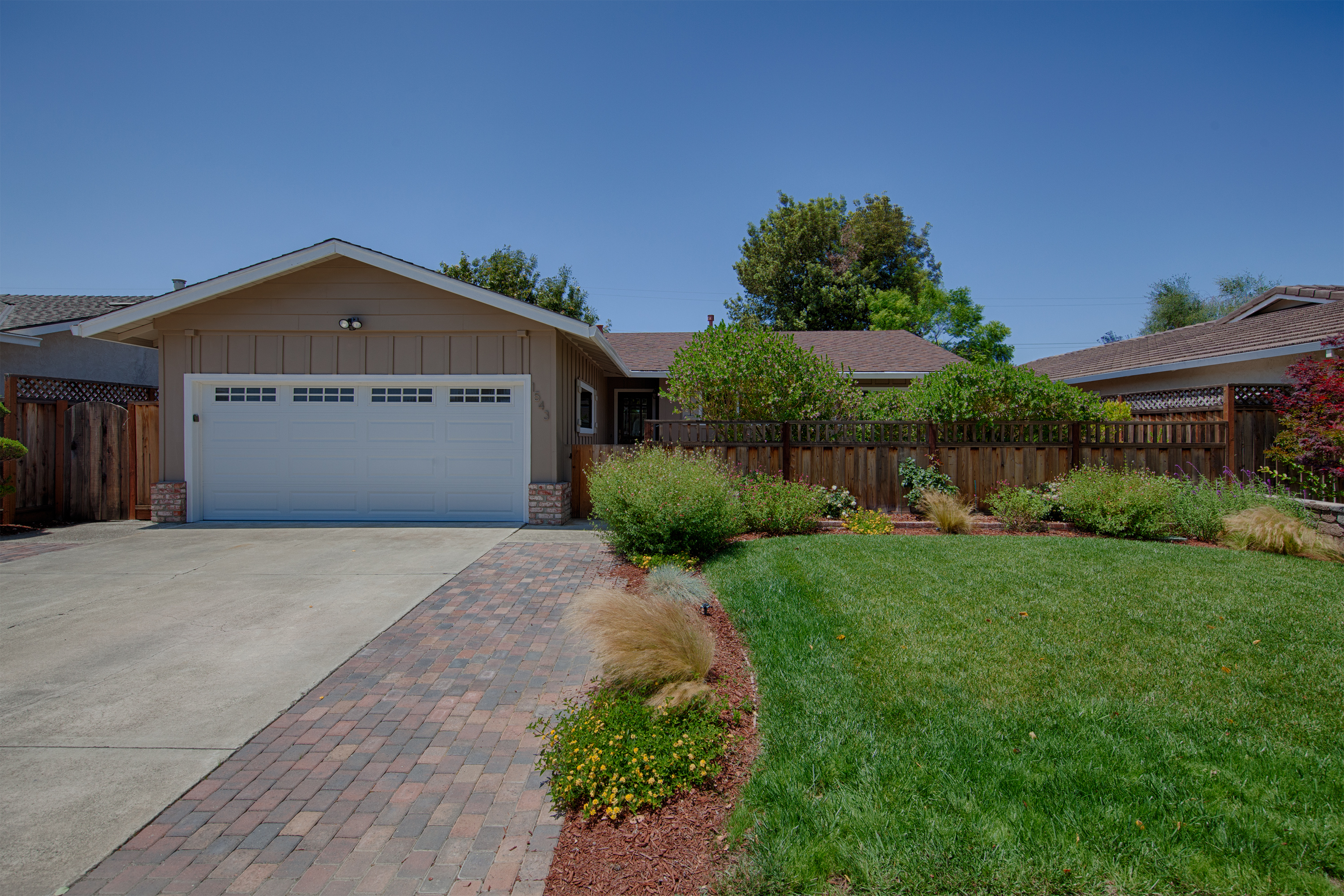 Front View - 1543 Oriole Ave, Sunnyvale 94087
