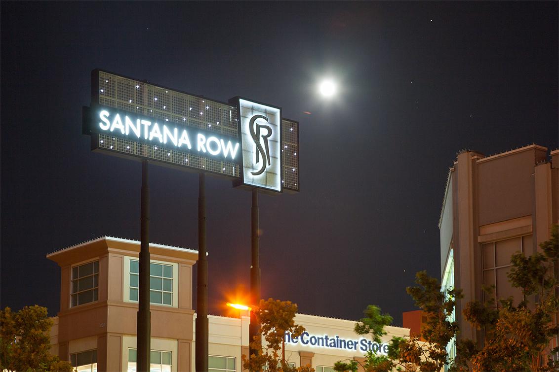 Santana Row Sign (A)
