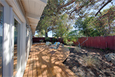 Backyard (A) - 1668 S Norfolk St, San Mateo 94403