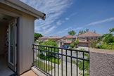 Bedroom 3 Balcony (A) - 1692 Via Fortuna, San Jose 95120
