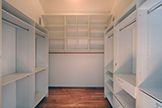 725 Center Dr, Palo Alto 94301 - Downstairs Bedroom 1 Closet