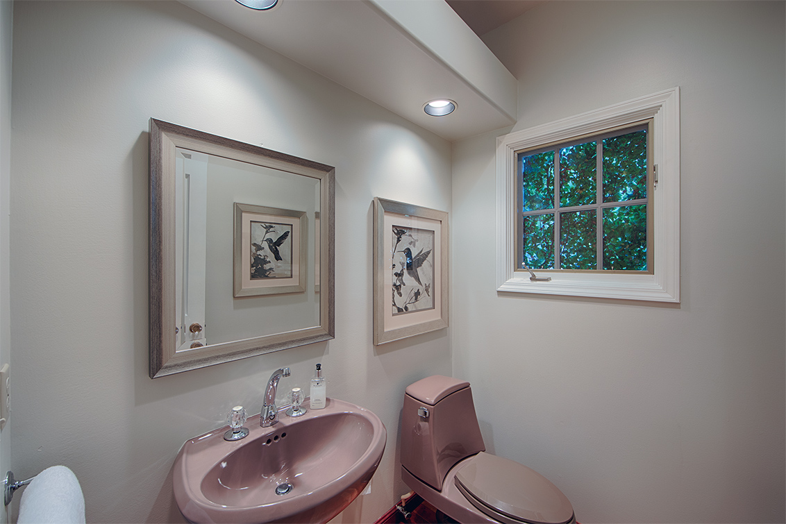 Downstairs Half Bath (A) - 725 Center Dr
