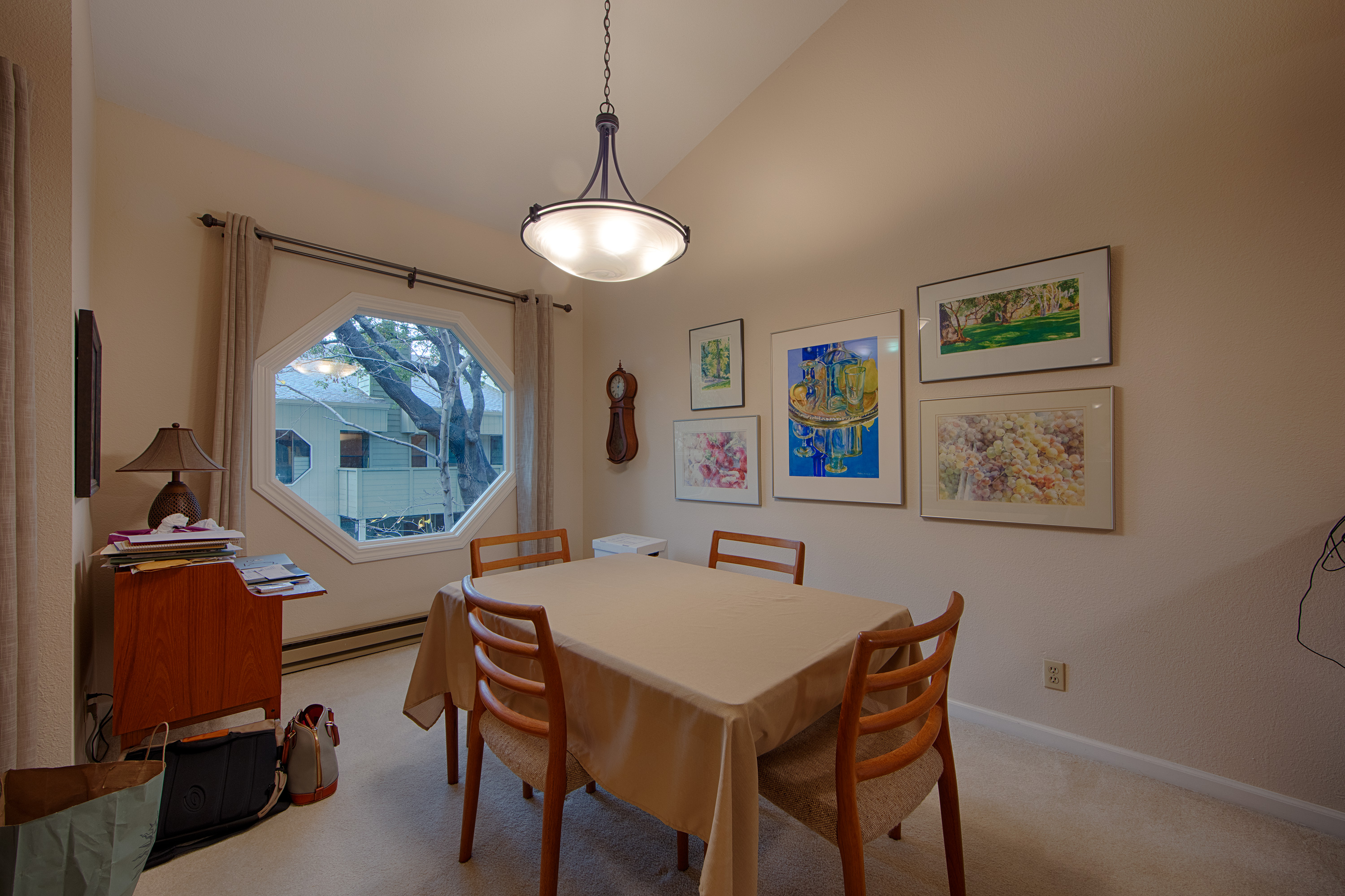 Dining Room  412 Crescent Ave, Unit 40, Sunnyvale 94087. Kitchen Pull Outs. Mission Style Kitchens. Vision Kitchen And Bath. Kitchen Wood Floor. Holiday Kitchen Curtains. Retro Kitchen Utensils. Kitchen With Granite. Modern Pendant Lighting For Kitchen