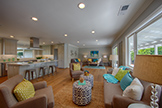 1021 E Rose Cir, Los Altos 94024 - Living Area (A)
