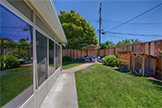 5150 Elester Dr, San Jose 95124 - Side Yard (C)