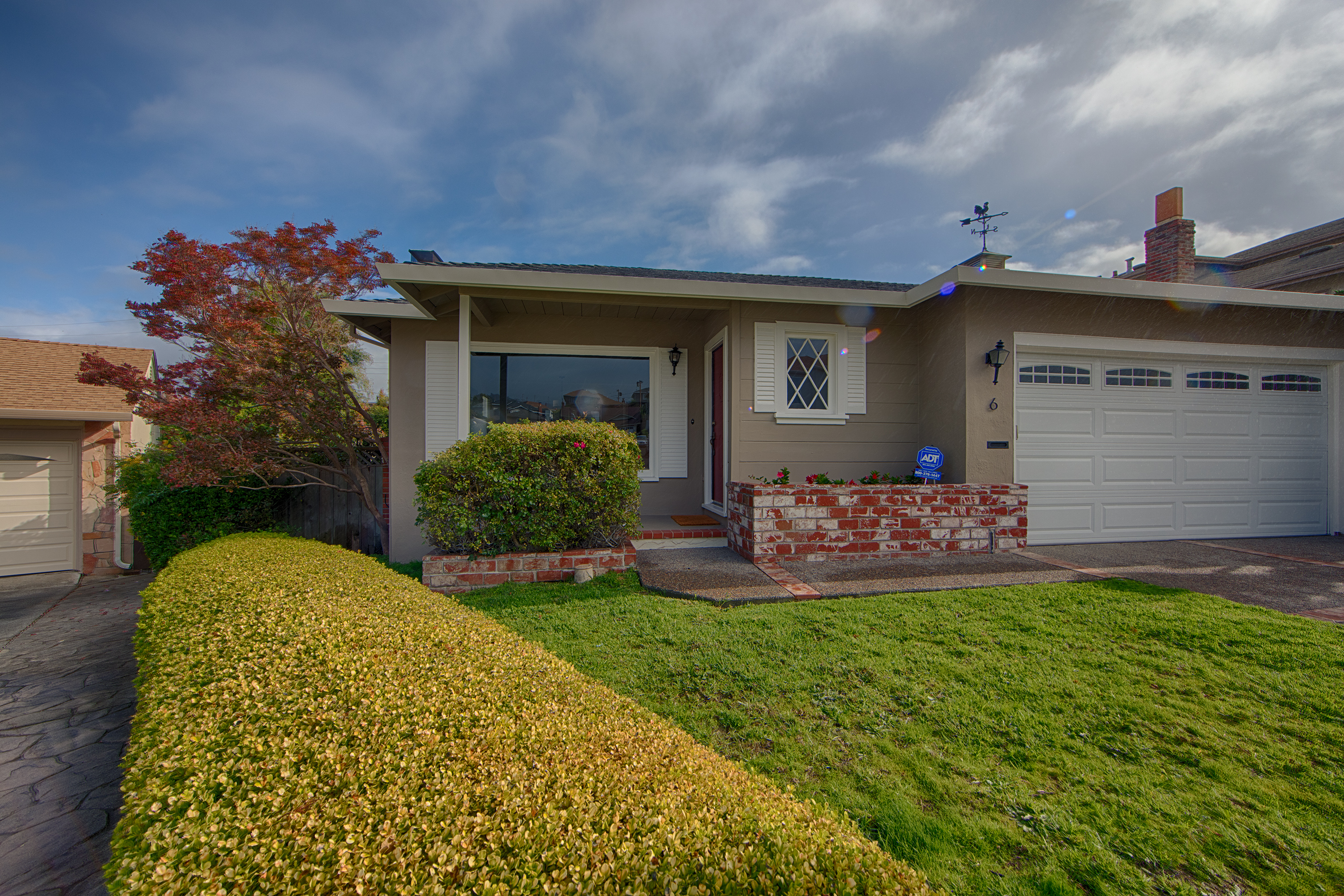 Front View - 6 Heather Pl, Millbrae 94030