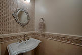 838 Hierra Ct, Los Altos 94024 - Half Bath (A)