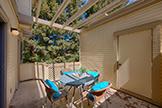 975 La Mesa Ter H, Sunnyvale 94086 - Balcony (A)