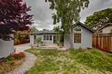 1613 Mariposa Ave, Palo Alto 94306 - Back Yard (B)