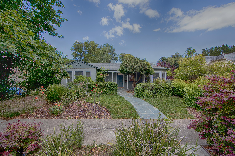 Front View - 1613 Mariposa Ave, Palo Alto 94306