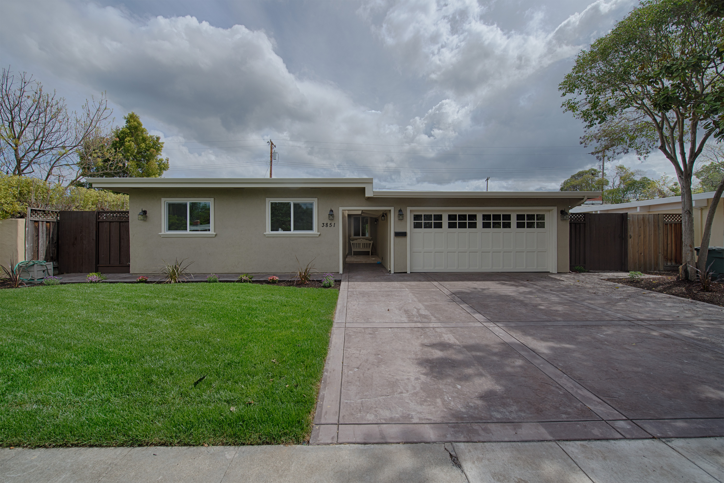 Front View - 3851 Nathan Way, Palo Alto 94303