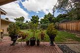 Back Yard (A) - 1290 Redondo Dr, San Jose 95125