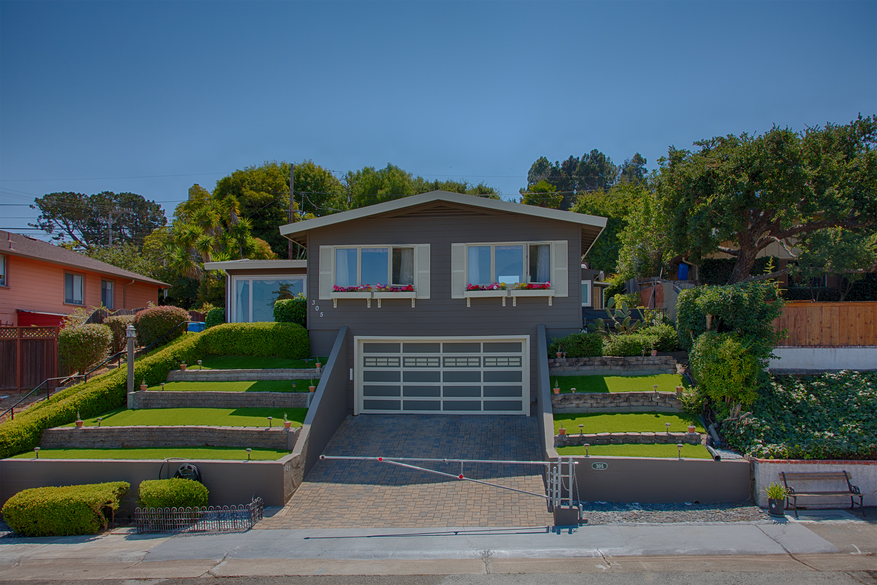 Front View - 305 Rolling Hills Ave, San Mateo 94403