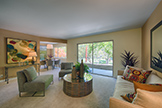 Living Room (D) - 280 Waverley St 8, Palo Alto 94301