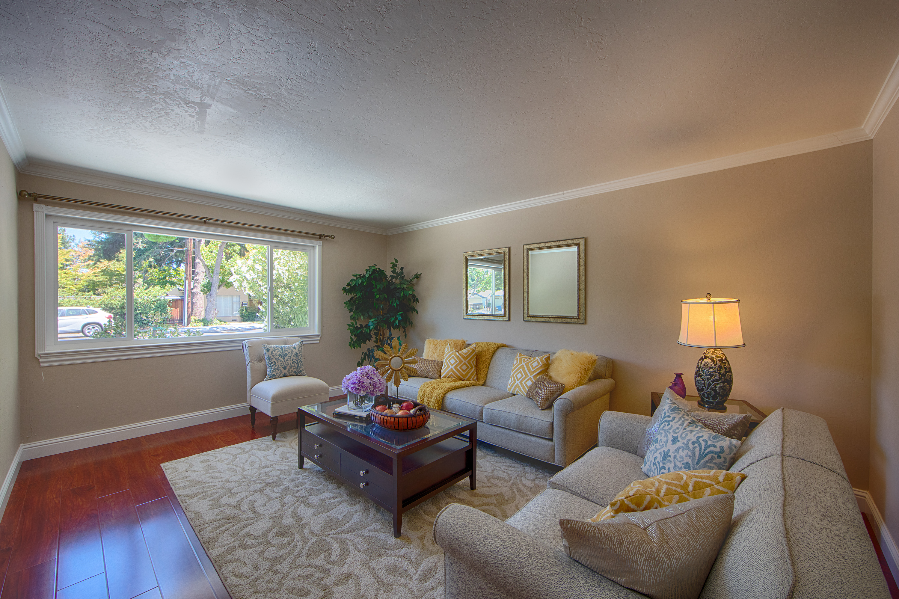 4030 Wilkie Way, Palo Alto 94306 - Living Room (A)