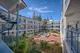 Court Yard (A) - 4685 Albany Cir 124, San Jose 95129