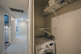 4685 Albany Cir 124, San Jose 95129 - Inside Laundry