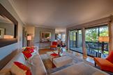Living Room (D) - 3321 Brittan Ave 5, San Carlos 94070
