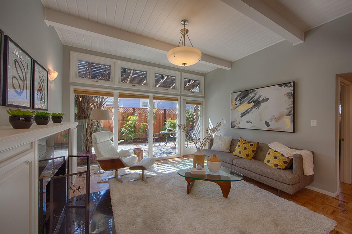 Living Room picture - 601 Bryson Ave, Palo Alto 94306