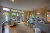 128 Buckthorn Way, Menlo Park 94025 - Living Room (A)