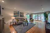 3747 Cass Way, Palo Alto 94306 - Living Room (A)