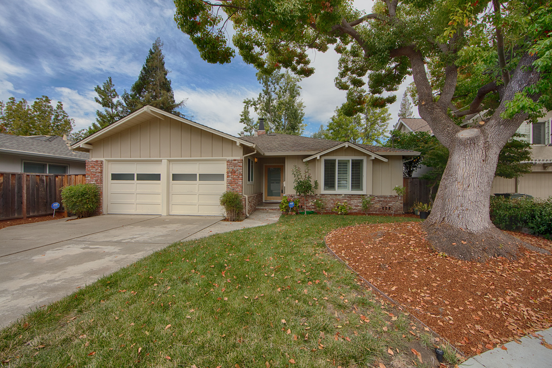Front View - 3747 Cass Way, Palo Alto 94306